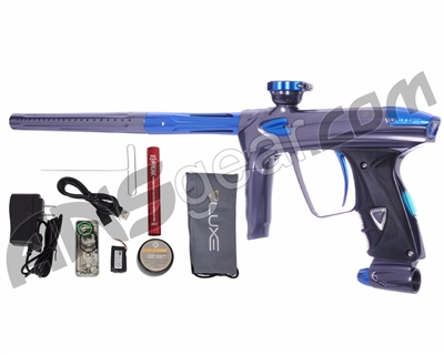 DLX Luxe 2.0 OLED Paintball Gun - Titanium/Blue