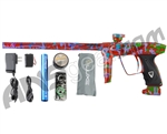 DLX Luxe 2.0 Paintball Gun - Pearl Orange/Purple/Lime Splash