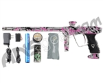 DLX Luxe 2.0 Paintball Gun - Pearl White/Black/Pink Splash