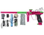 DLX Luxe 2.0 Paintball Gun - Pink/Dust Slime Green