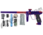 DLX Luxe 2.0 Paintball Gun - Purple/Dust Red