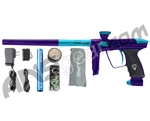 DLX Luxe 2.0 Paintball Gun - Purple/Dust Teal