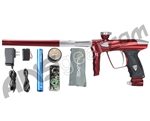 DLX Luxe 2.0 Paintball Gun - Red/Clear