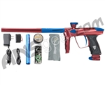 DLX Luxe 2.0 Paintball Gun - Red/Dust Blue