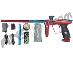 DLX Luxe 2.0 Paintball Gun - Red/Dust Teal