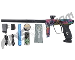 DLX Luxe 2.0 Paintball Gun - Skull Candy - Black/Multi Tattoo Laser