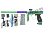 DLX Luxe 2.0 Paintball Gun - Slime Green/Dust Purple