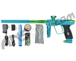 DLX Luxe 2.0 Paintball Gun - Teal/Slime Green