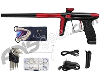 DLX Luxe Ice Paintball Gun - Black/Dust Red