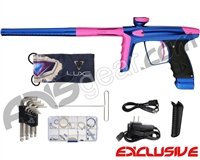 DLX Luxe Ice Paintball Gun - Blue/Dust Pink