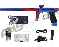 DLX Luxe Ice Paintball Gun - Blue/Dust Red