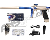 DLX Luxe Ice Paintball Gun - Dust Champagne/Blue