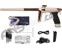 DLX Luxe Ice Paintball Gun - Dust Champagne/Brown