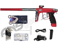DLX Luxe Ice Paintball Gun - Dust Red/Pewter