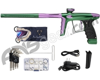 DLX Luxe Ice Paintball Gun - Forest Green/Dust Light Purple