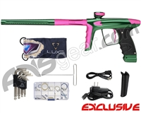 DLX Luxe Ice Paintball Gun - Forest Green/Dust Pink