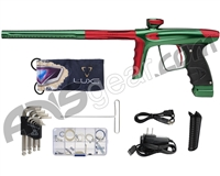 DLX Luxe Ice Paintball Gun - Forest Green/Dust Red