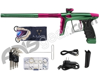 DLX Luxe Ice Paintball Gun - Forest Green/Pink