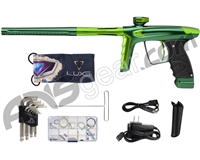 DLX Luxe Ice Paintball Gun - Forest Green/Slime