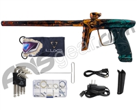DLX Luxe Ice Paintball Gun - Galaxy Bronze/Teal