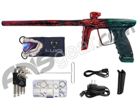 DLX Luxe Ice Paintball Gun - Galaxy Red/Green