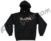 DLX Luxe Hooded Pullover Sweatshirt - Black/Tan