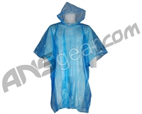 Draxxus Paintball Poncho - Blue