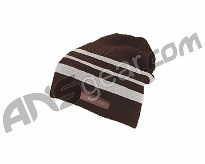 Dye Flake Beanie - Maroon/Light Grey