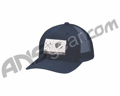 Dye Rail Trucker Hat - Navy