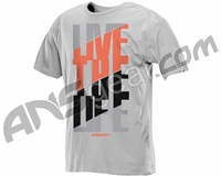 2013 Dye Live The Life T-Shirt - Heather Grey