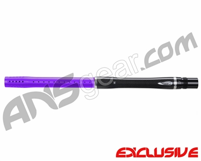 "Dye Carbon Fiber 2 Piece Boomstick Barrel - Autococker Thread - 15"" Length - .680 Bore - Electric Purple"