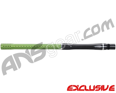 "Dye Carbon Fiber 2 Piece Boomstick Barrel - Autococker Thread - 15"" Length - .684 Bore - Dust Lime"