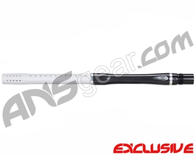 "Dye Carbon Fiber 2 Piece Boomstick Barrel - Autococker Thread - 15"" Length - .684 Bore - Dust White"