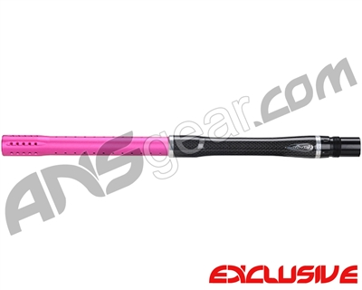 "Dye Carbon Fiber 2 Piece Boomstick Barrel - Autococker Thread - 15"" Length - .688 Bore - Dust Pink"