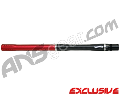"Dye Carbon Fiber 2 Piece Boomstick Barrel - Autococker Thread - 15"" Length - .688 Bore - Dust Red"