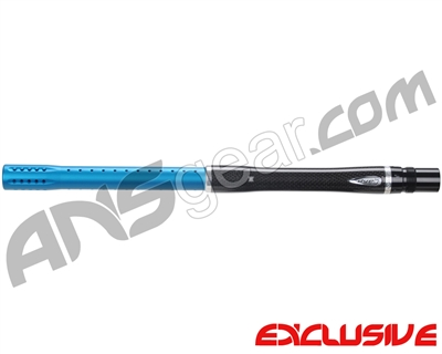 "Dye Carbon Fiber 2 Piece Boomstick Barrel - Autococker Thread - 15"" Length - .688 Bore - Dust Teal"