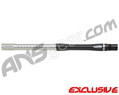 "Dye Carbon Fiber 2 Piece Boomstick Barrel - Autococker Thread - 15"" Length - .692 Bore - Dust Silver"