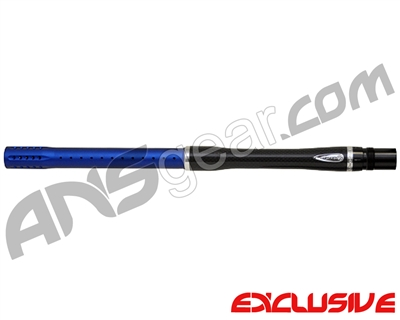 "Dye Carbon Fiber 2 Piece Boomstick Barrel - Autococker Thread - 17"" Length - .688 Bore - Dust Blue"