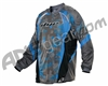 2013 Dye C13 Paintball Jersey - Atlas Blue
