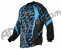 2013 Dye C13 Paintball Jersey - Cubix Cyan