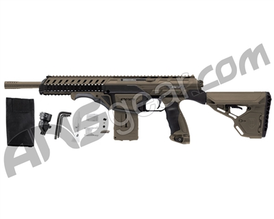 Dye Assault Matrix DAM Paintball Gun - Dark Earth
