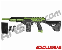 Dye Assault Matrix DAM Paintball Gun - Sour Apple