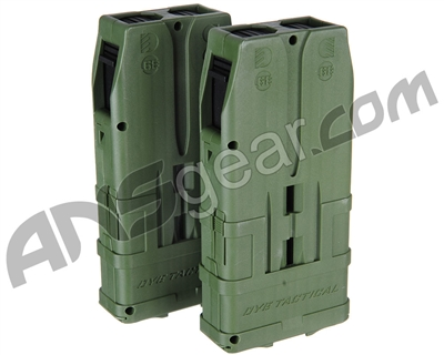 Dye Assault Matrix 10 Round Magazine 2 Pack - Olive