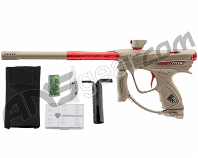 Dye DM13 Paintball Gun - Tan/Red