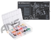 Dye DM Tech Mat w/ Colored O-Ring Kit