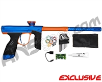 Dye DSR Paintball Gun - Blue/Sunburst Orange