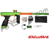 Dye DSR Paintball Gun - Green/Sunburst Orange