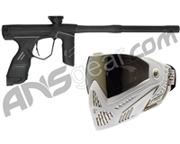 Dye DSR Gun w/ Free White/Gold Dye I5 Mask - Blackout