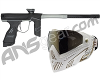 Dye DSR Gun w/ Free White/Gold Dye I5 Mask - Black/Grey