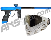 Dye DSR Gun w/ Free White/Gold Dye I5 Mask - Blue/Black